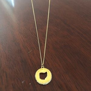 Kate Spade Ohio State of Mind Necklace